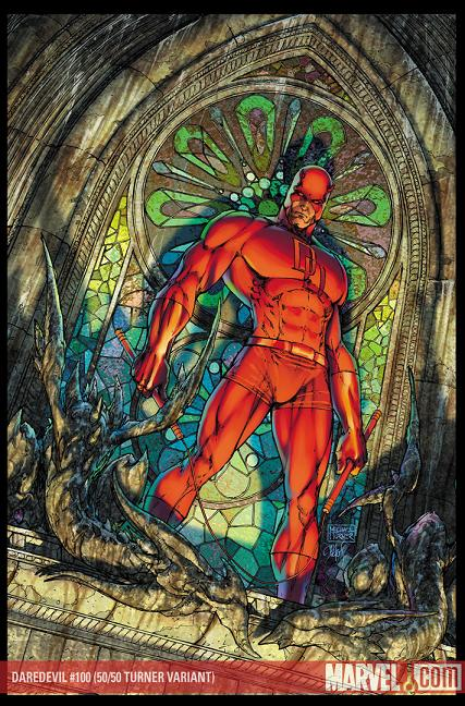 Daredevil #100 (Variant Cover)//MICHAEL TURNER/T/ Comic Art ...