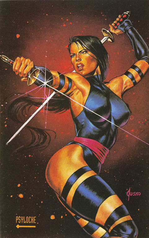 Psylocke Marvel Masterpiece