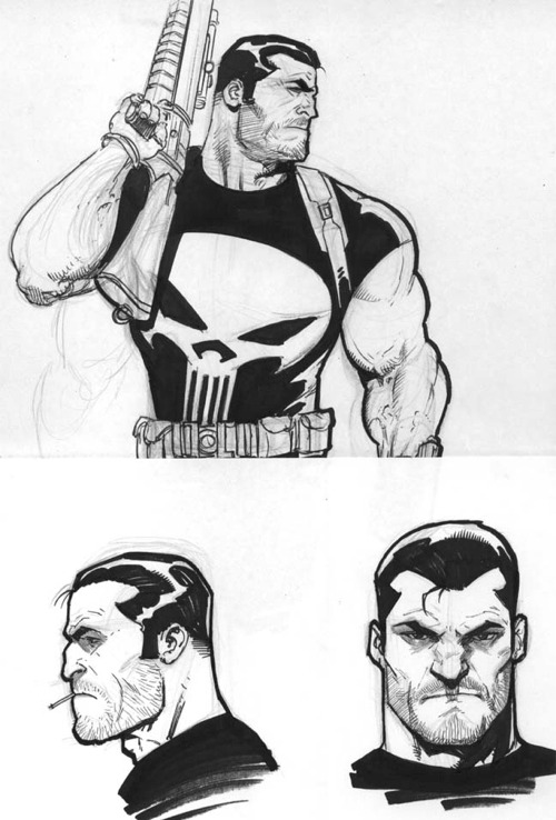 Punisher Sketch Comic Art Community Gallery Of Comic Art