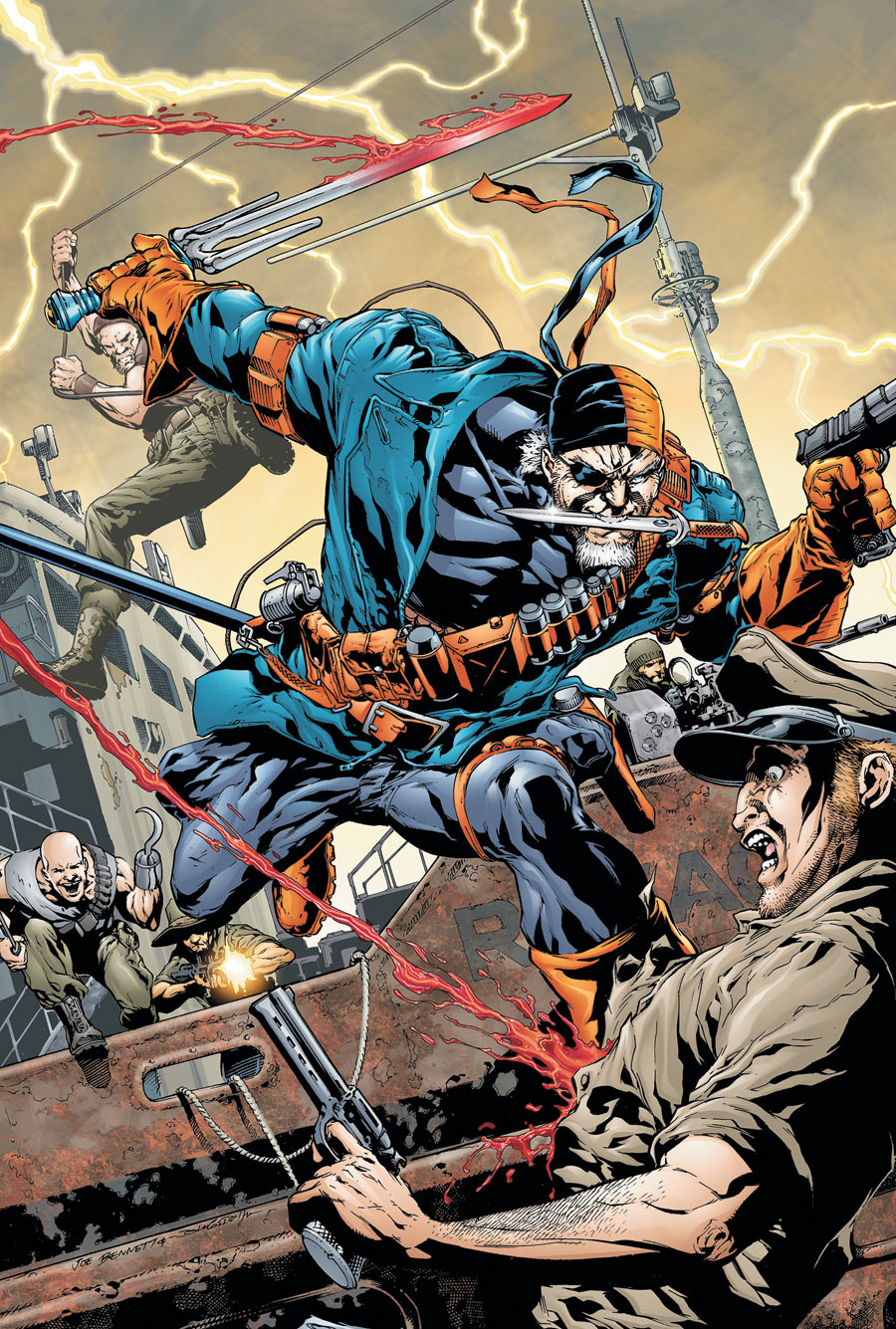 Flashpoint: Deathstroke and the Curse of the Ravager #1 ... Deathstroke And Ravager