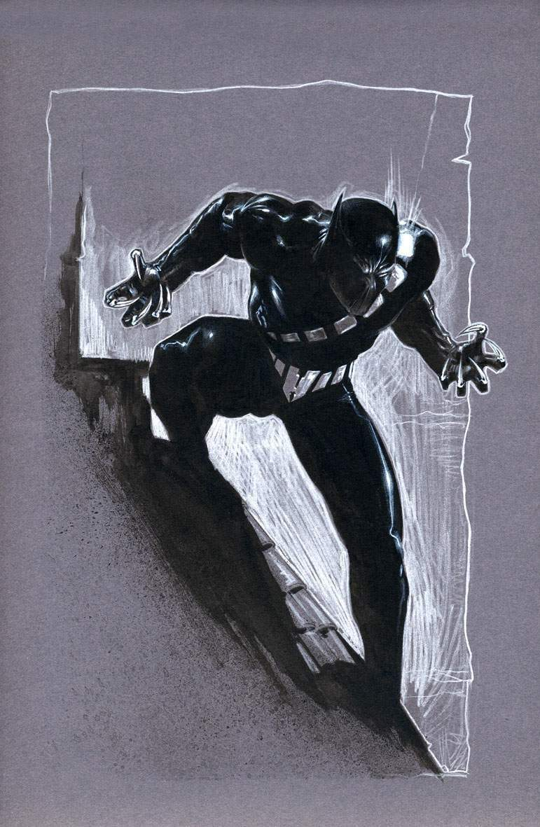 "Black Panther Sketch Gabriele Dell""Otto"