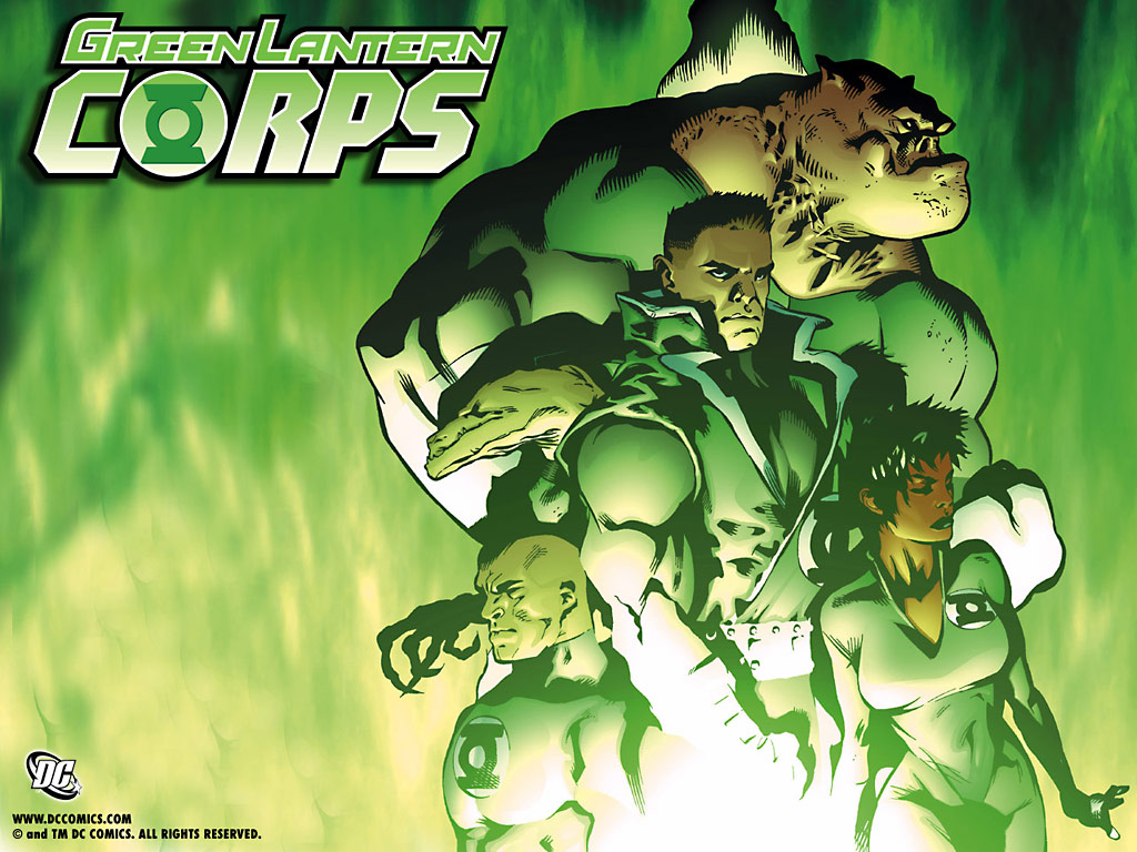 Green Lantern Corps#1 wallpaper