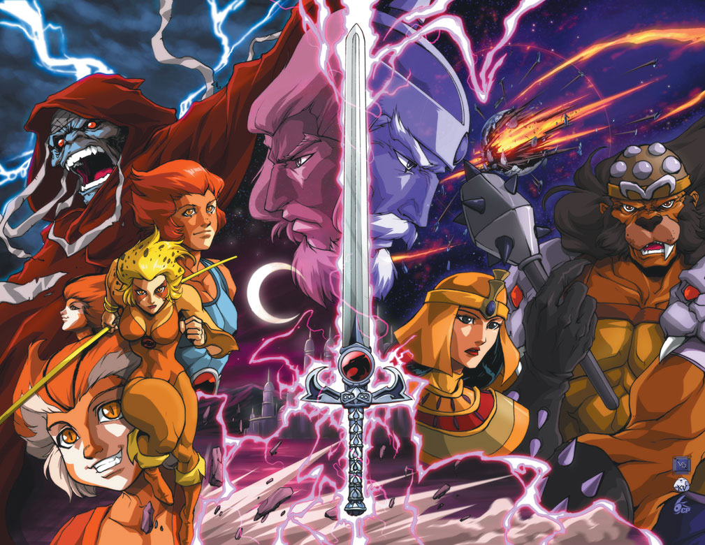 THUNDERCATS ORIGINS — HEROES AND VILLAINS #1//Long Vo/U - V/ Comic ...