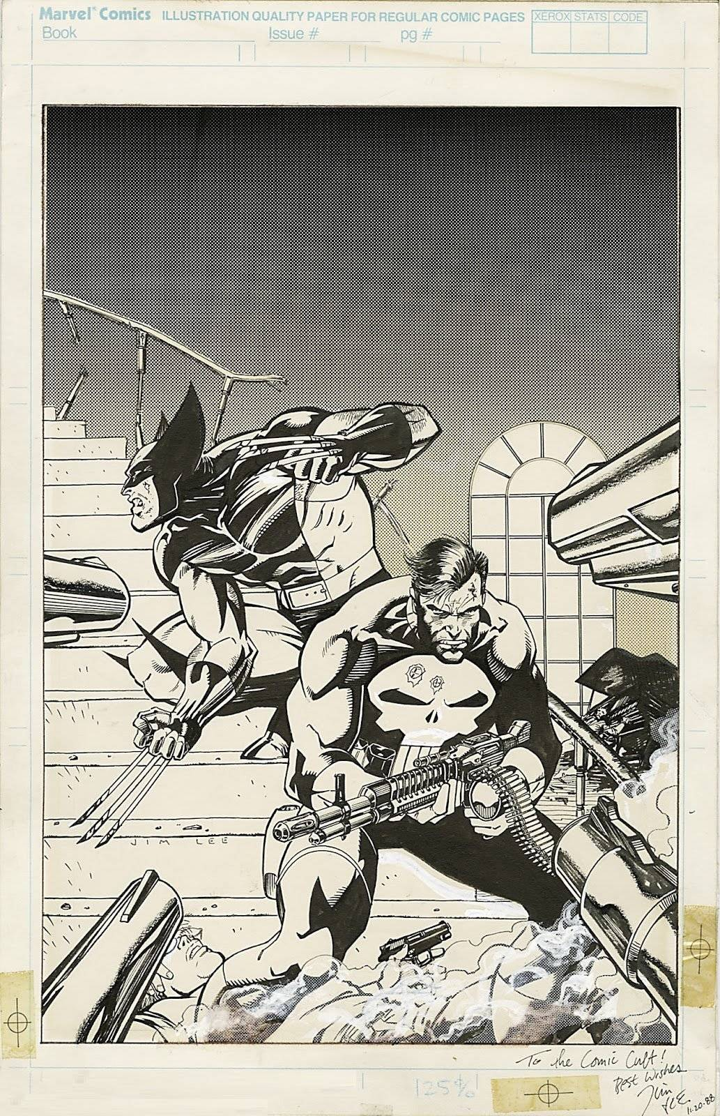 Wolverine And The Punisher Comic Art Community Gallery Of Comic Art
