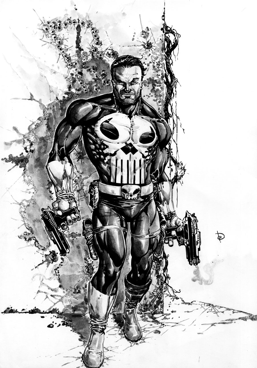Punisher By Dheeraj Verma Comic Art Community Gallery Of Comic Art