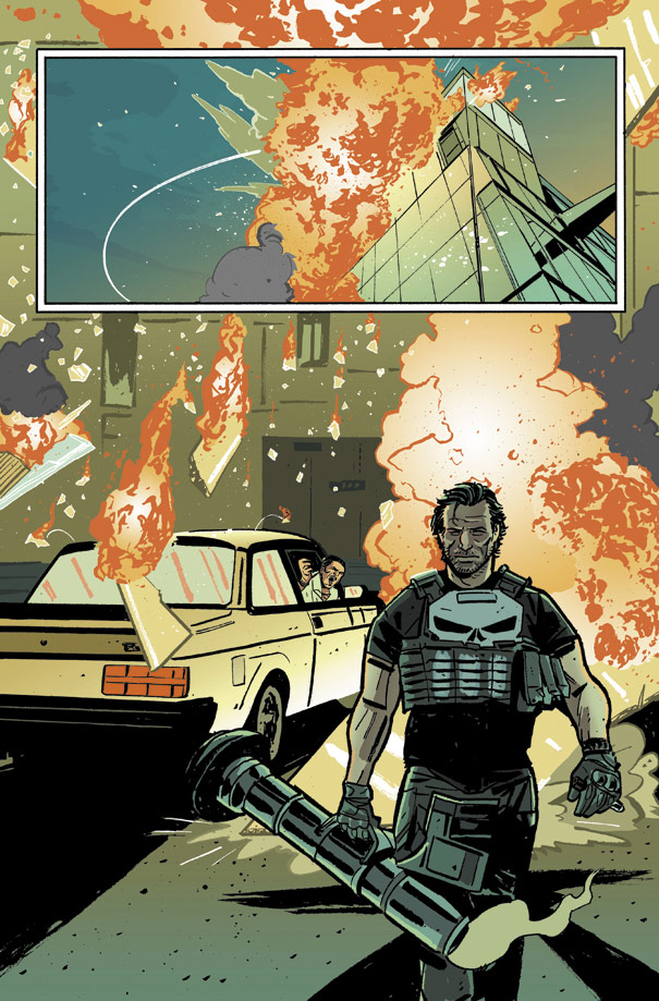 The Punisher  Comic Art Community Gallery Of Comic Art